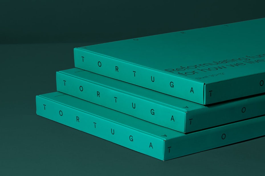 Tortuga packaging