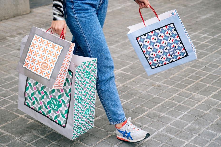 UNIQLO bags
