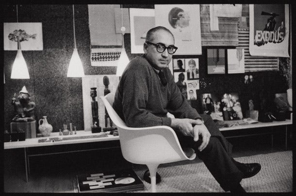 Photo of Saul Bass