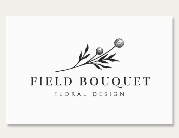 field boutique flower card