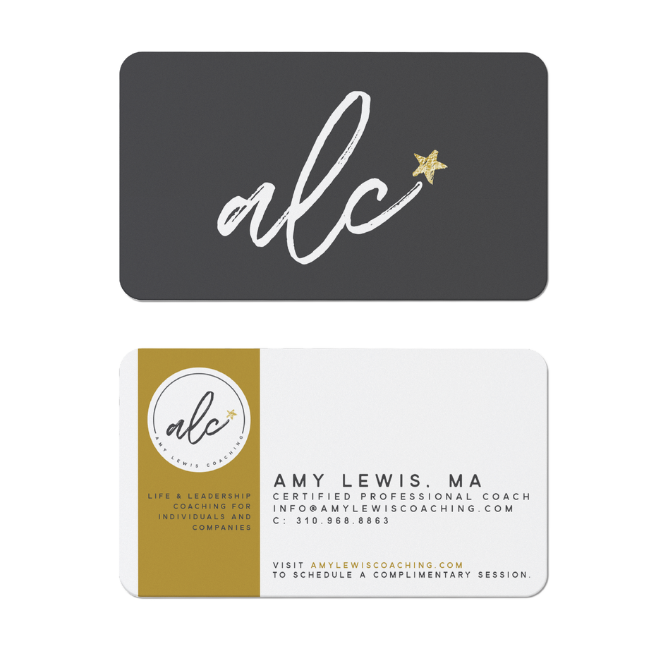 alc coaching business card
