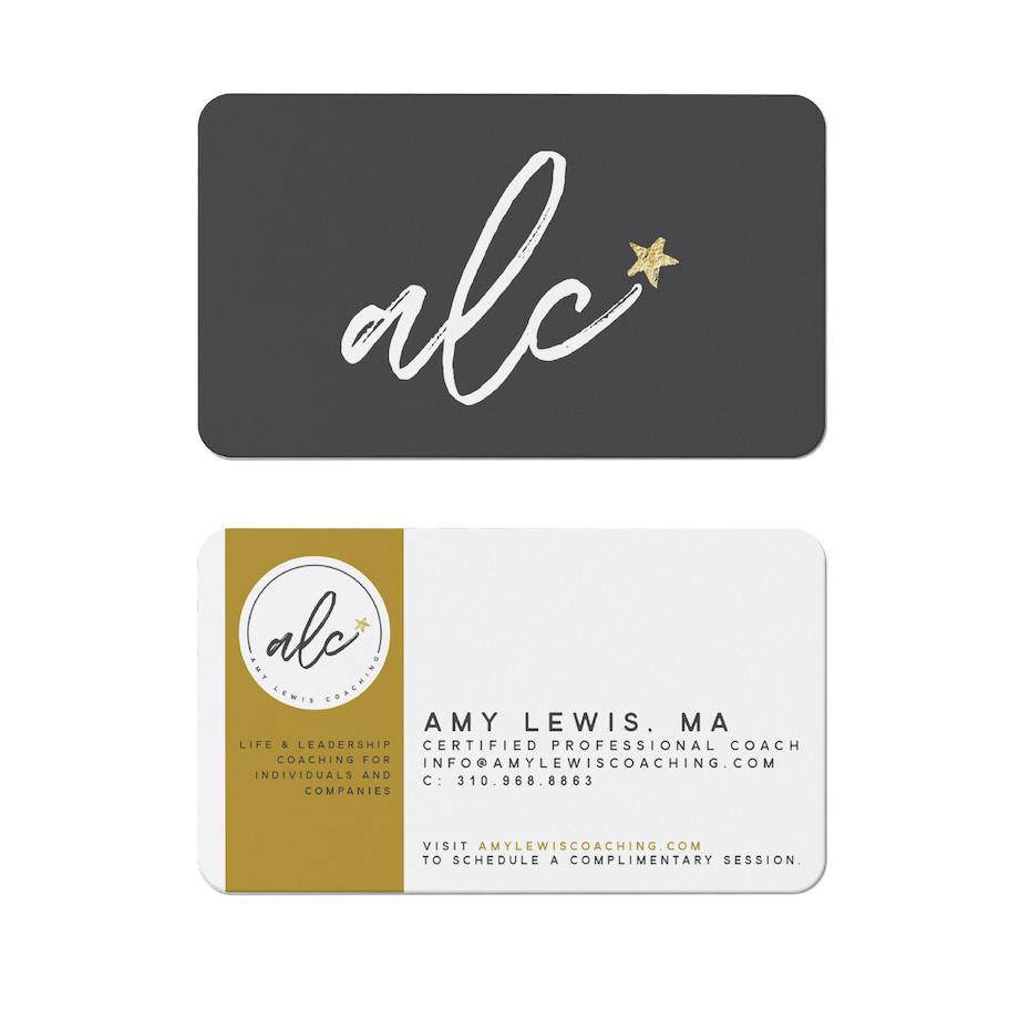 alc coaching business card