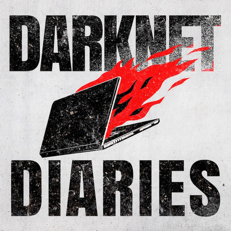 Darknet Diaries podcast logo