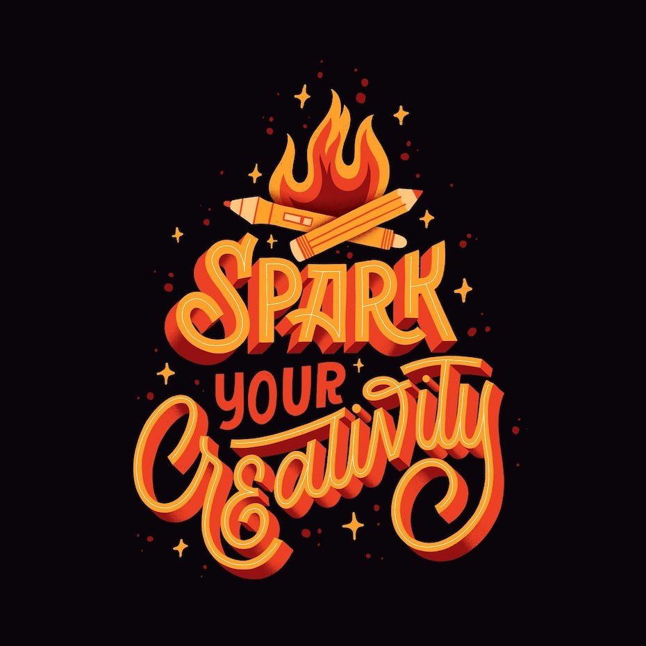 Spark Your Creativity graphic
