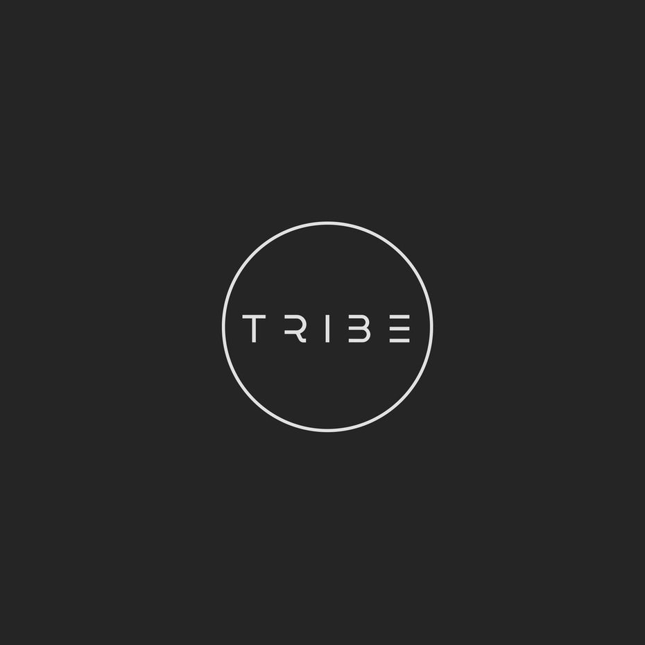Branding trends 2020 example: TRIBE logo