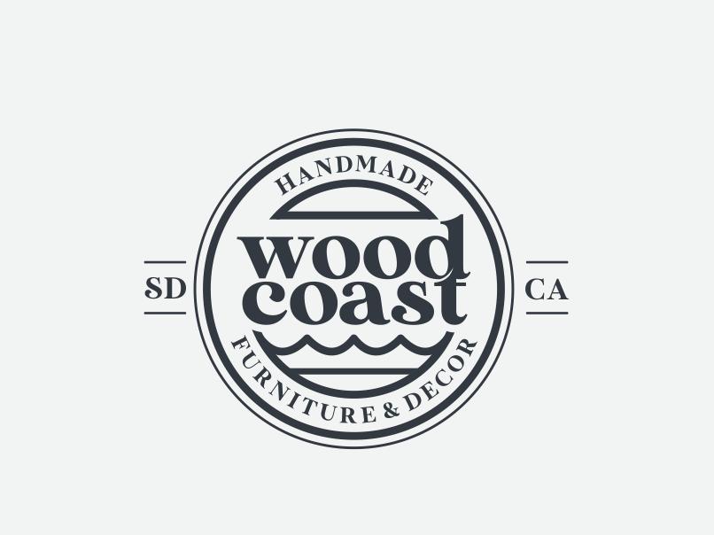 Serif font logo design