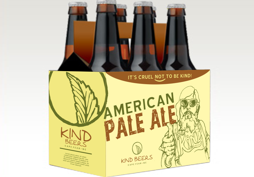Branding trends 2020 example: American Pale Ale labels