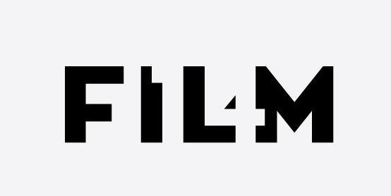 Branding trends 2020 example: Film startup logo