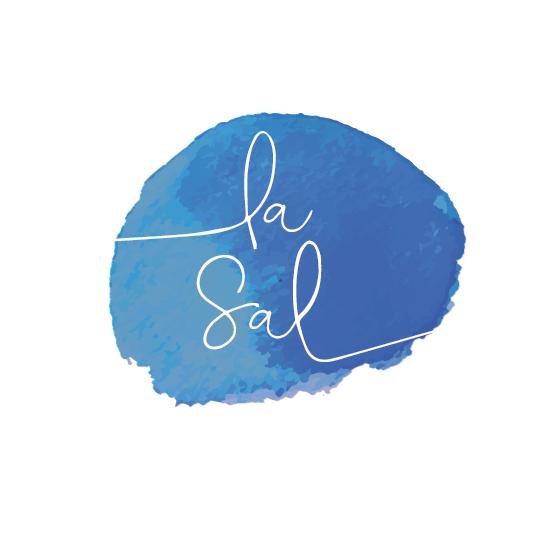 classic blue logo design