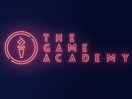 Color trends 2020 example: neon The Game Academy logo