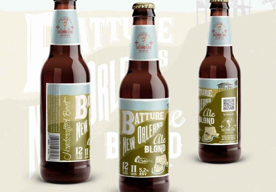 Branding trends 2020 example: Beer label design
