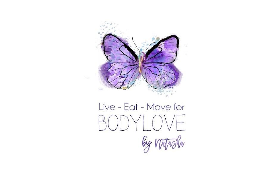 purple butterfly business card