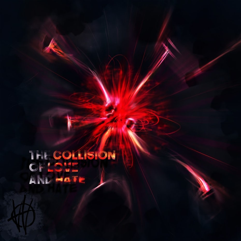 Collision of love and hate album cover
