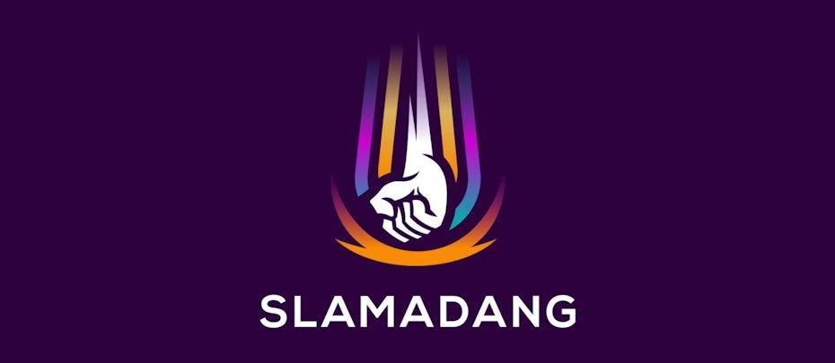Branding trends 2020 example: Slamadang branding