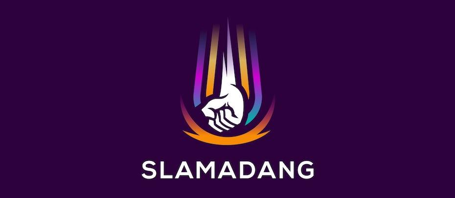 Slamadang branding