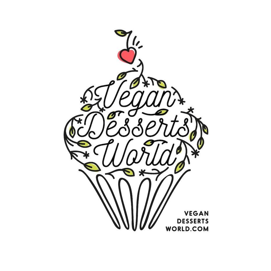 Vegan Desserts World logo