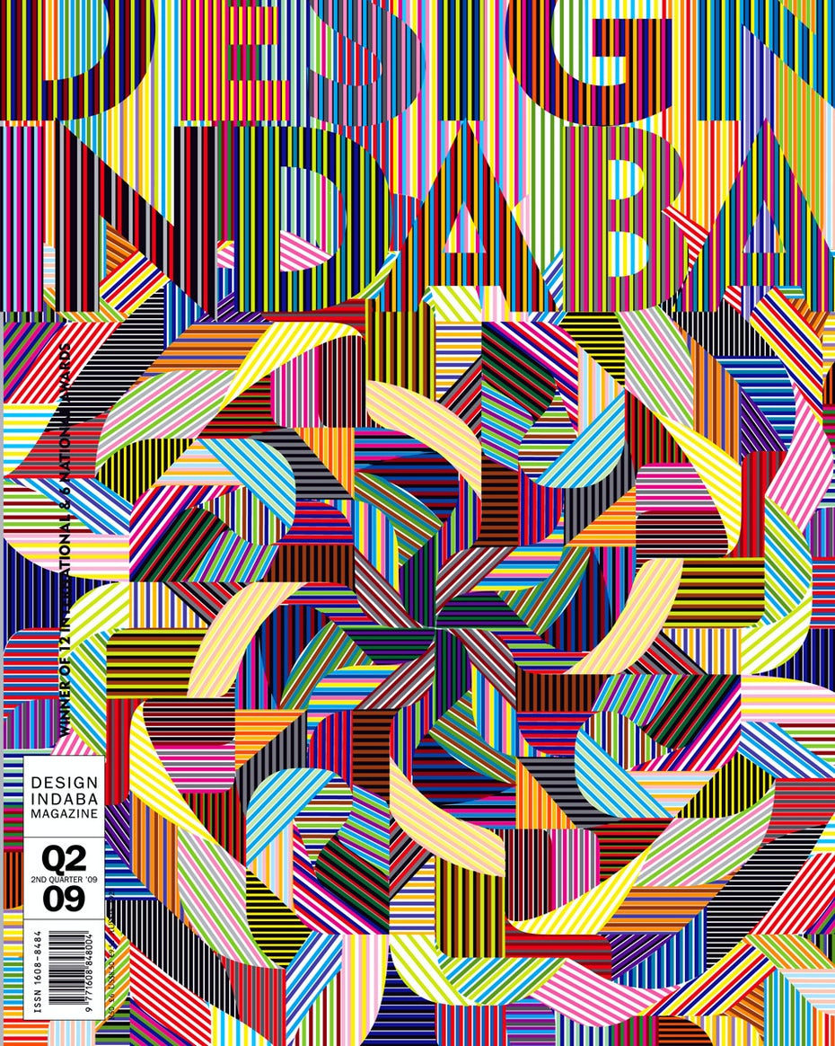 Marian Bantjes colorful patterned magazine cover