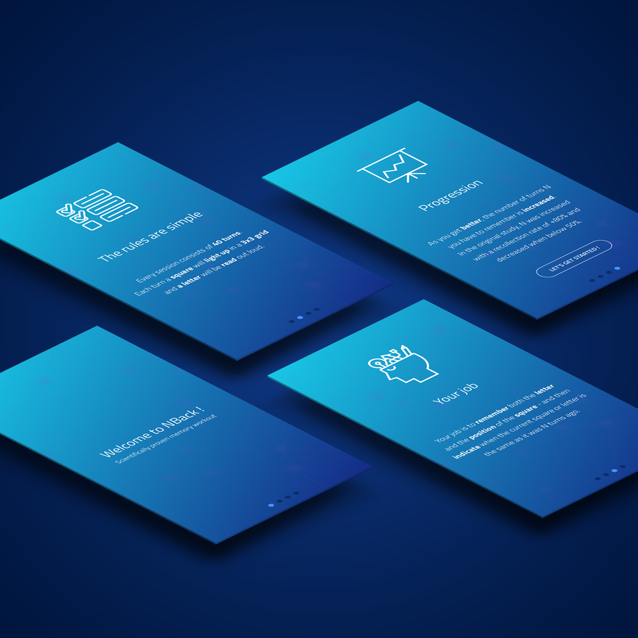color trends 2020 example classic blue app design