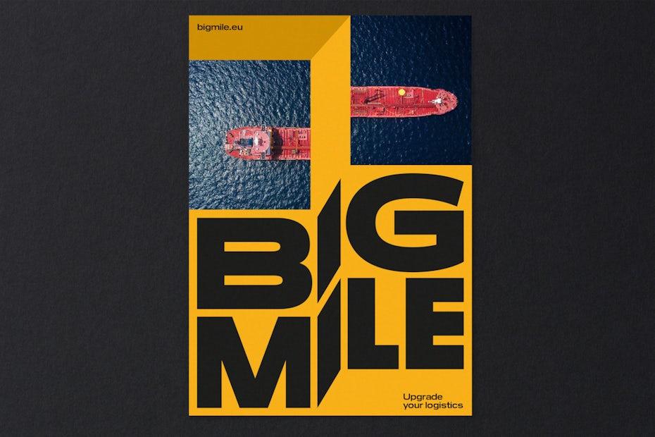 BigMile visual identity