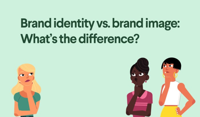 what's the difference between brand identity and brand image
