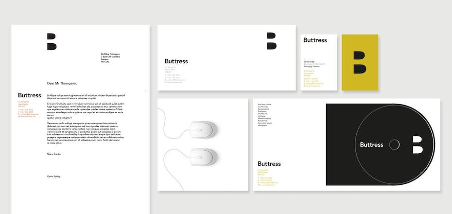 Buttress branding