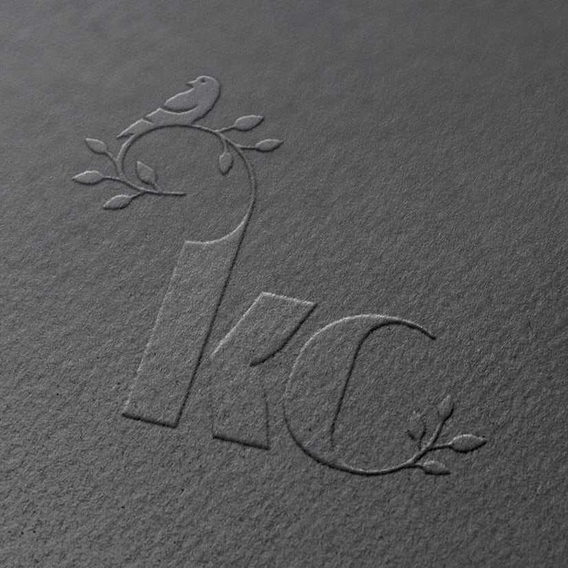kc black business card