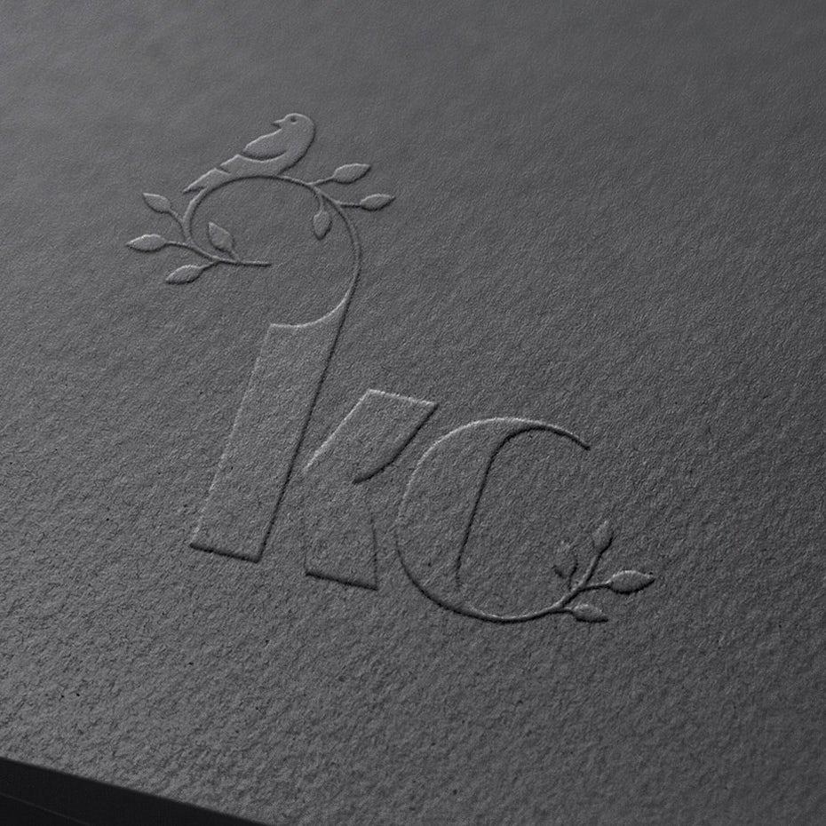 kc black business card