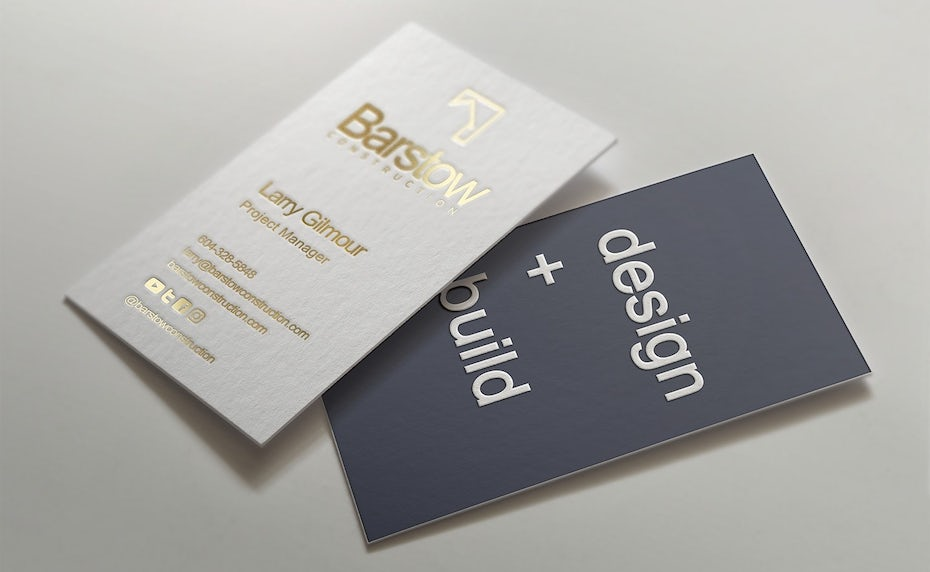 Barstow business cards