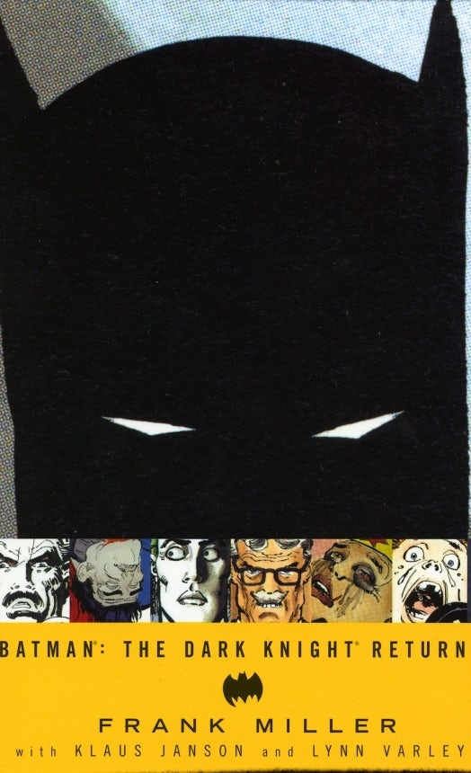 Batman: The Dark Knight Returns cover design