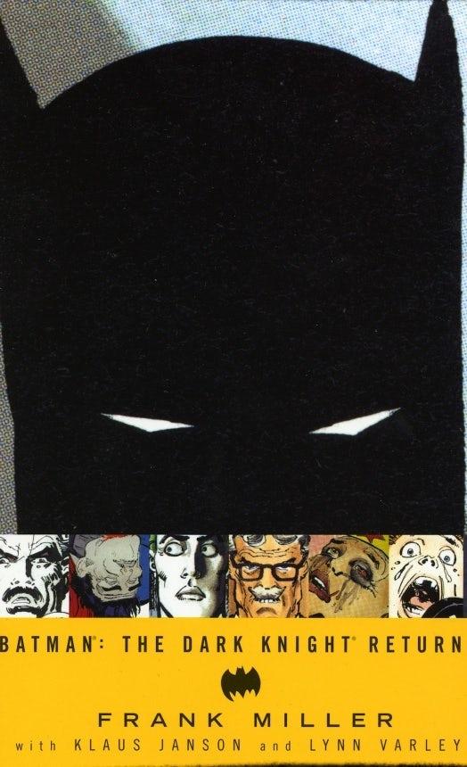 Diseño de portada de Batman: The Dark Knight Returns