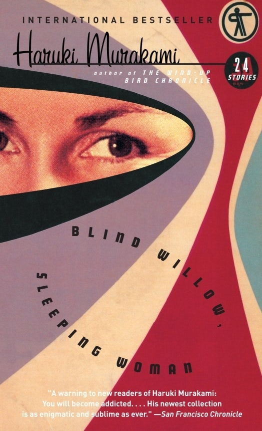 Blind Willow Sleeping Woman Haruki Murakami book cover design