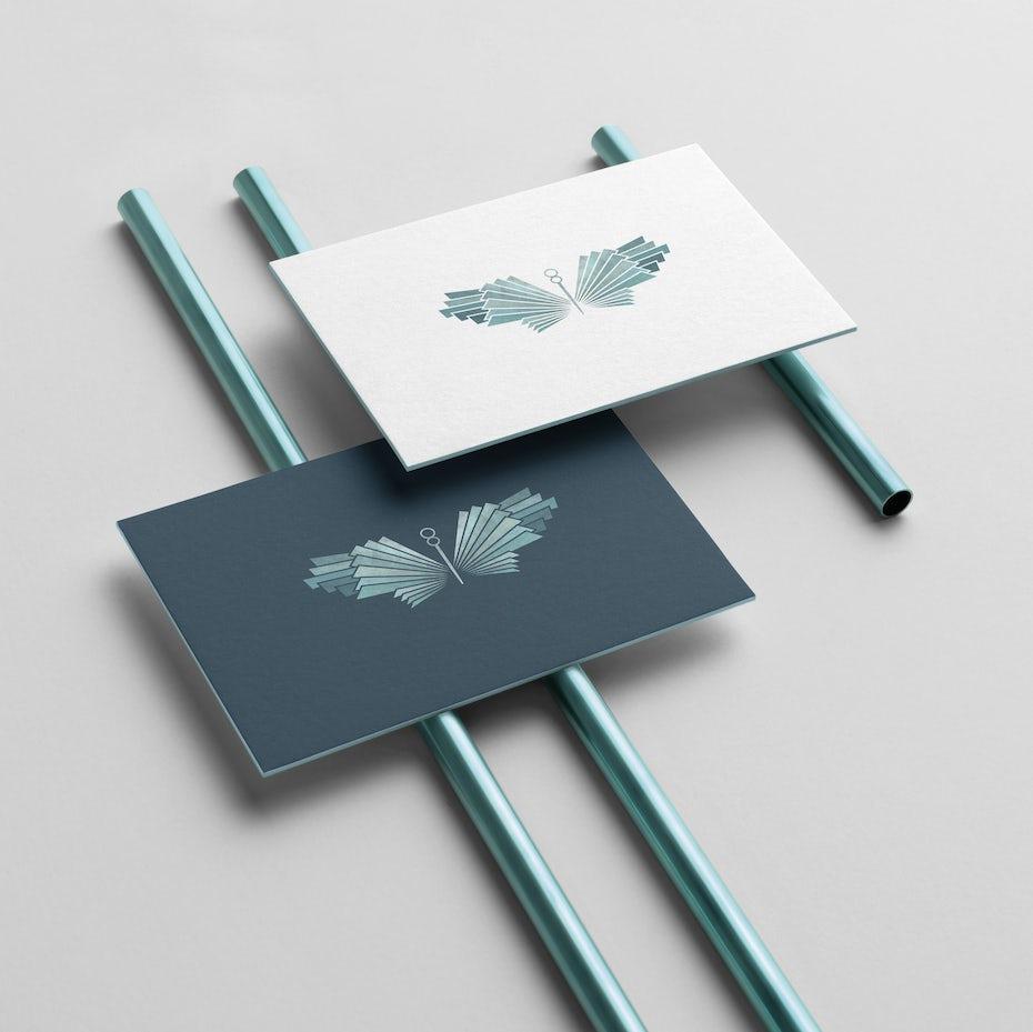 Geometric wings design