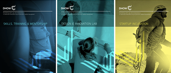 DHOW visual identity