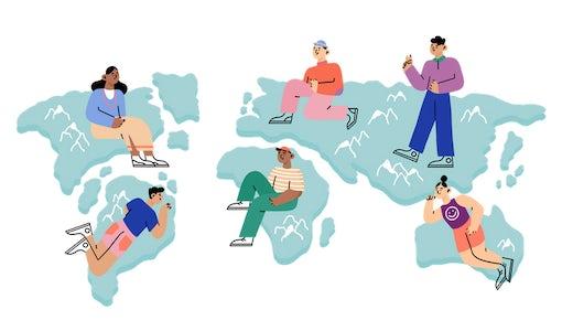 Globalisierung im Design: Die Zukunft des Freelancings in der Designbranche