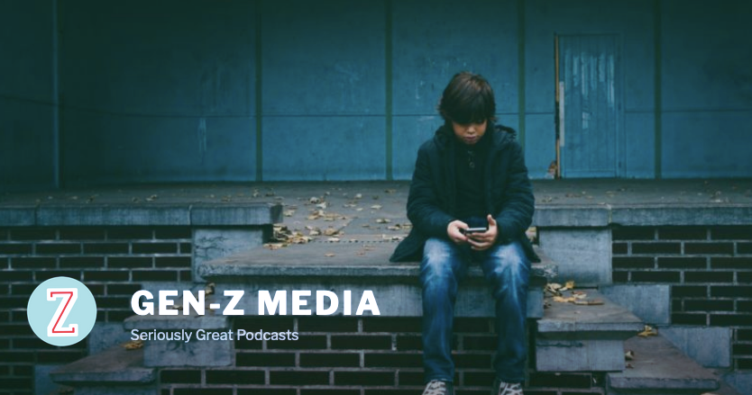 Screenshot of Gen-Z Media home page
