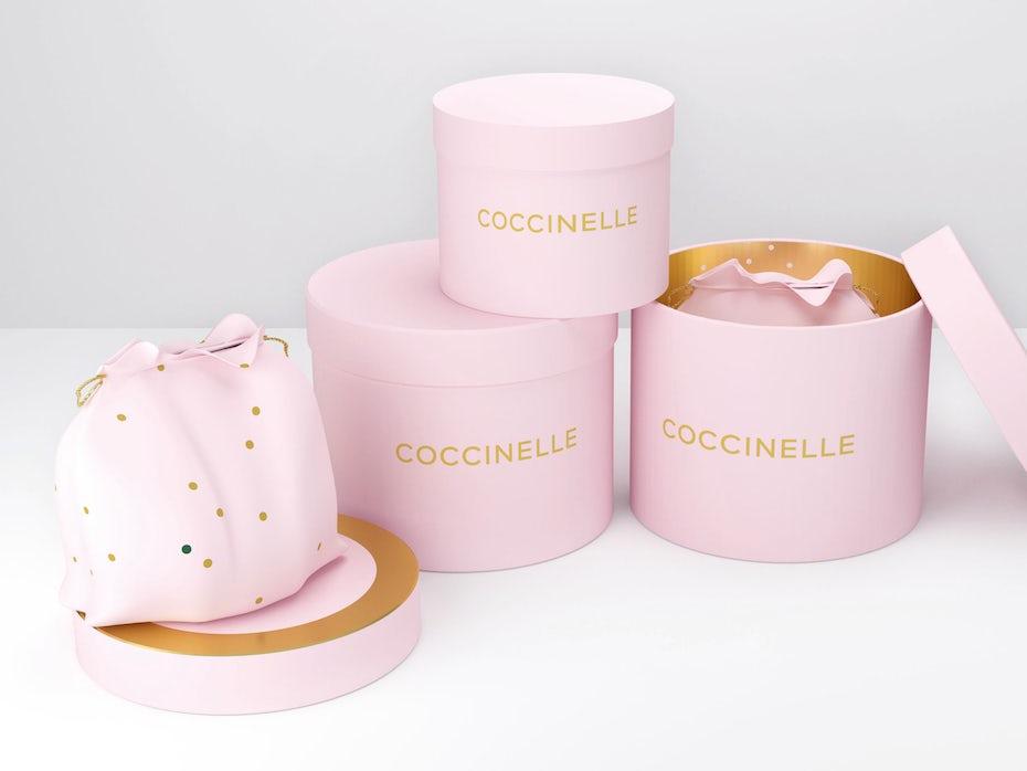 Coccinelle brand identity