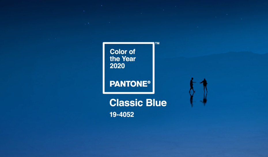 The Pantone Color of the Year 2020: Classic Blue
