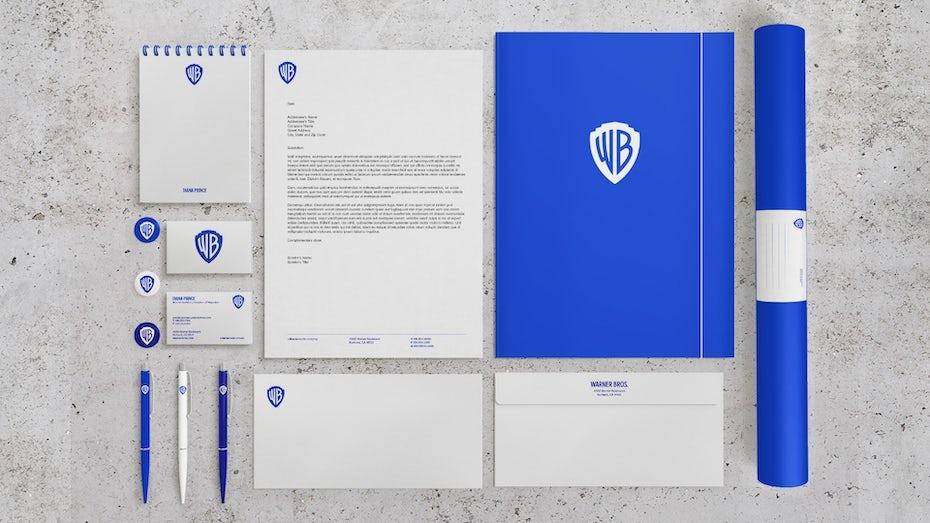 Warner Brothers brand identity
