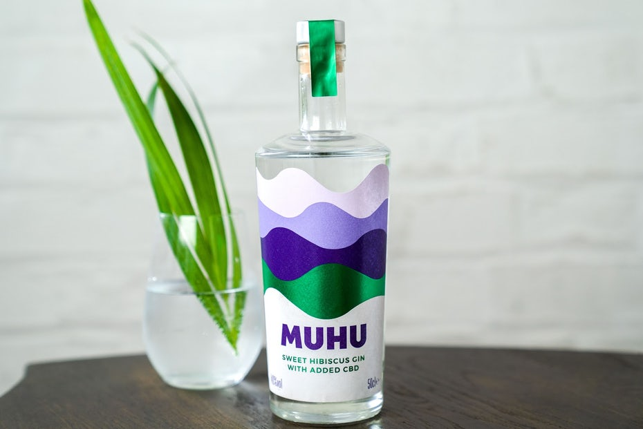 MUHU label design