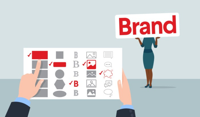 brand identity examples illustration