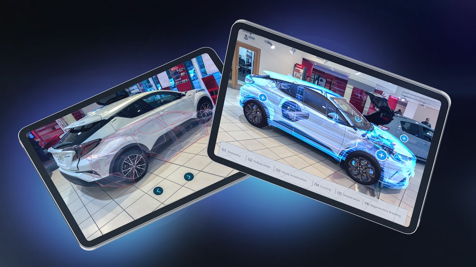Toyota augmented reality app