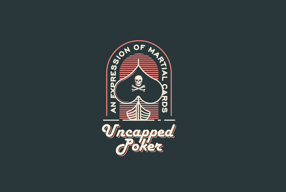 Logotipo que muestra el logotipo de Poker Pirates