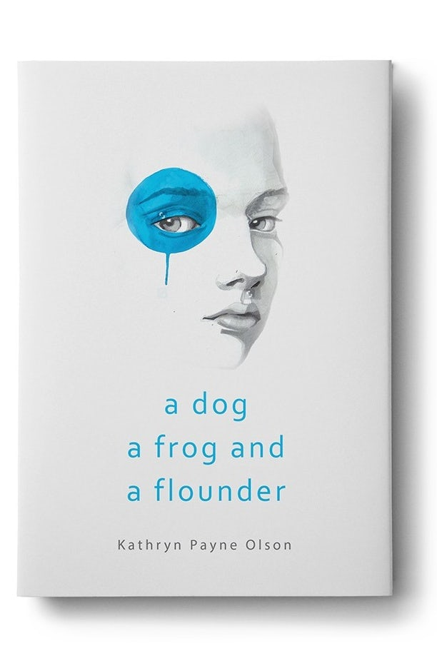 book cover trends 2020 example with classic illustrated face and blue circle