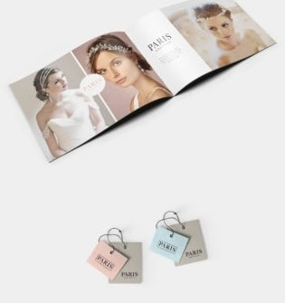 brand identity example for bridal boutique