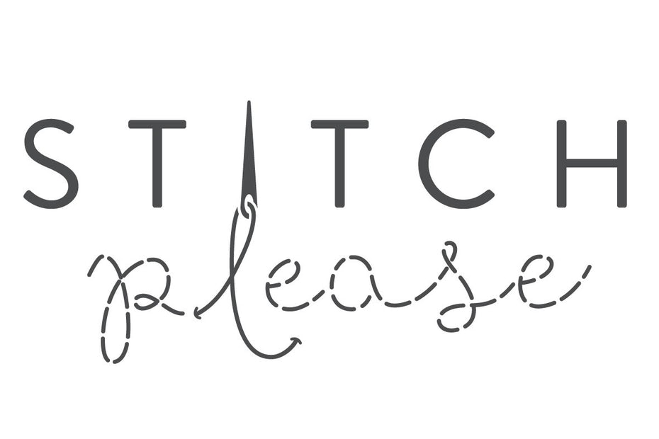 Alternative logos and font choice for Stitch Please