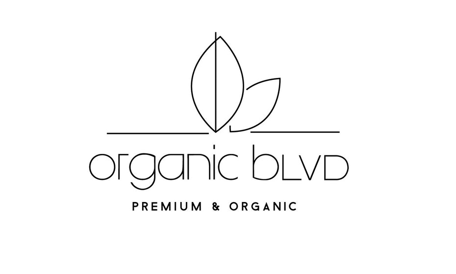 Logo, brand and color palette for Organic Blvd