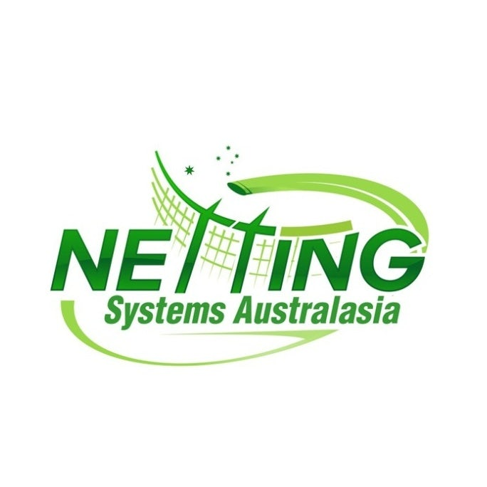 Logo and color palette for Netting Systems Australasia