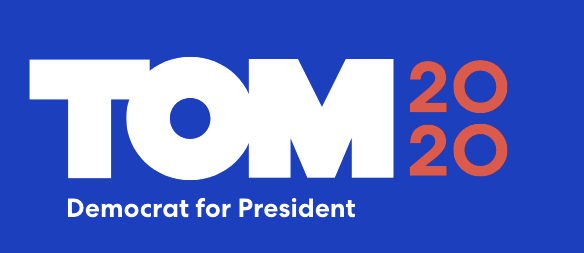 2020 presidential candidates logos: Tom Steyer