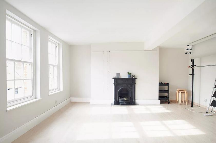 Photographer's studio space