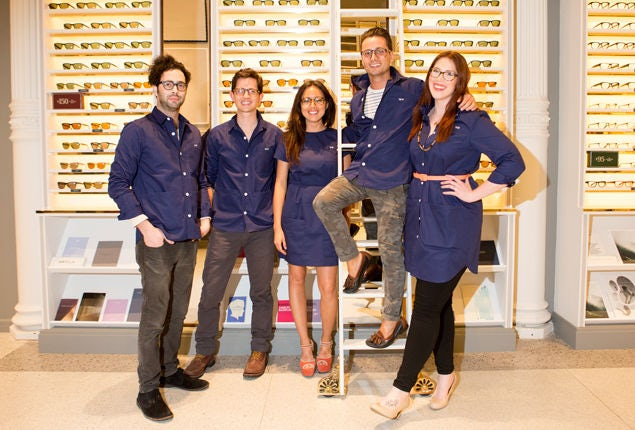 equipo warby parker